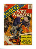 Silver Age (1956-1969):Adventure, Showcase #1 Fire Fighters (DC, 1956) Condition: FR. Cover by John Prentice. Interior art by Prentice and Win Mortimer. Cover...