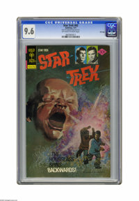 Star Trek #42 File Copy (Gold Key, 1977) CGC NM+ 9.6 Off-white to white pages. Overstreet 2005 NM- 9.2 value = $45. CGC...