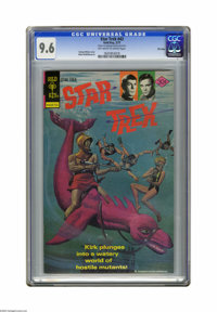 Star Trek #43 File Copy (Gold Key, 1977) CGC NM+ 9.6 Off-white to white pages. George Wilson cover. Alden McWilliams art...