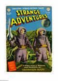 """Golden Age (1938-1955):Science Fiction, Strange Adventures #1 (DC, 1950) Condition: VG. Features anadaptation of the movie """"Destination Moon"""" with photo cover. Als..."""