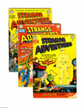 Golden Age (1938-1955):Science Fiction, Strange Adventures #5, 6 and 10 (DC, 1951). Three-issue group lotincludes #5 (GD), 6 (GD), and 10 (VG). Featured artists in...(Total: 3 Comic Books)