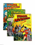 Golden Age (1938-1955):Science Fiction, Strange Adventures Group (DC, 1951-52) Condition: Average VG-.Seven-issue group of issues from this classic Golden Age sci-...(Total: 7 Comic Books)