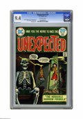 Bronze Age (1970-1979):Horror, Unexpected #154 (DC) CGC NM 9.4 Off-white pages. Nick Cardy coverart. Frank Redondo interior art. Overstreet 2005 NM- 9.2 v...
