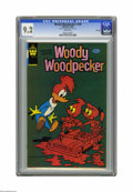 Modern Age (1980-Present):Cartoon Character, Woody Woodpecker #190 File Copy (Whitman, 1980) CGC NM- 9.2 Whitepages. Only sold in pre-packs. Overstreet 2005 NM- 9.2 val...