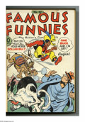 Golden Age (1938-1955):Miscellaneous, Famous Funnies #97-108 Bound Volume (Eastern Color, 1942-43). These are Western Publishing file copies which have been trimm...