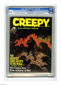 Magazines:Horror, Creepy #2 (Warren, 1965) CGC VF+ 8.5 Cream to off-white pages. Frank Frazetta cover. Frazetta, Angelo Torres, Joe Orlando, R...