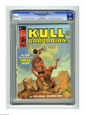 Magazines:Miscellaneous, Kull and the Barbarians #2 (Marvel, 1975) CGC NM 9.4 Off-whitepages. Neal Adams, Gil Kane, Bernie Wrightson, Howard Chaykin...