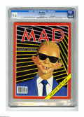 "Magazines:Mad, Mad #269 Gaines File pedigree (EC, 1987) CGC NM+ 9.6 White pages.""Max Headroom"" cover by Richard Williams. ""I Love Lucy"" TV..."