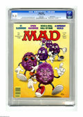 "Magazines:Mad, Mad #281 Gaines File pedigree (EC, 1988) CGC VF/NM 9.0 White pages.""St. Elsewhere"" and ""A Different World"" TV parodies. Sam..."