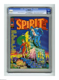 Magazines:Superhero, The Spirit #2 (Warren, 1974) CGC NM 9.4 Off-white to white pages.Will Eisner and Bill Dubay cover. Eight pages in color. Le...