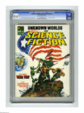 Magazines:Science-Fiction, Unknown Worlds of Science Fiction #2 (Marvel, 1975) CGC NM 9.4.Mike Kaluta cover. Kaluta, Bruce Jones, Frank Brunner, and A...