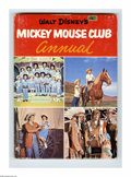 Books:Hardcover, Walt Disney's Mickey Mouse Club Magazine 1956 Annual Group (WaltDisney Productions, 1956) Condition: Average FR. This group...(Total: 6)
