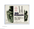 """Movie Posters:Bad Girl, 99 Women (Commonwealth United, 1968). Half Sheet (22"""" X 28""""). Cultfavorite Jesus Franco directs this standard issue """"women ..."""