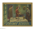 "Movie Posters:Crime, Crime School (Warner Brothers, 1938). Lobby Card (11"" X 14""). Afterthe stunning success of ""Dead End,"" Jack Warner bought o..."