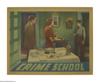"Crime School (Warner Brothers, 1938). Lobby Card (11"" X 14""). After the stunning success of ""Dead End,&qu..."