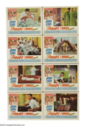 """Movie Posters:Comedy, The Disorderly Orderly (Paramount, 1965). Lobby Card Set of 8 (11"""" X 14""""). Jerry Lewis is Jerome Littlefield, the titular me... (Total: 8 Items)"""
