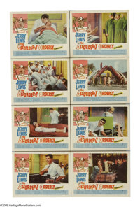 """The Disorderly Orderly (Paramount, 1965). Lobby Card Set of 8 (11"""" X 14""""). Jerry Lewis is Jerome Littlefield..."""
