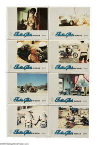"Electra Glide in Blue (United Artists, 1973). Lobby Card Set of 8 (11"" X 14""). Arizona motorcycle cop John Win..."