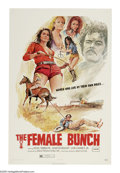 "Movie Posters:Bad Girl, The Female Bunch (Gilbreth, 1971). One Sheet (27"" X 41"") and LobbyCard Set of 8 (11"" X 14""). After attempting suicide, Sand...(Total: 9 Items)"