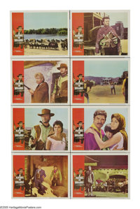 """A Fistful of Dollars (United Artists, 1964). Lobby Card Set of 8 (11"""" X 14""""). This remake of Kurosawa's """"..."""