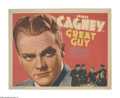 "Movie Posters:Drama, Great Guy (Grand National, 1936). Title Lobby Card (11"" X 14"").James Cagney broke off his contract with Warner Brothers whe..."