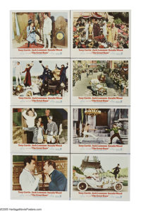 """The Great Race (Warner Brothers, 1965). Lobby Card Set of 8 (11"""" X 14""""). The """"Cannonball Run"""" of the..."""