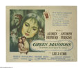 """Movie Posters:Drama, Green Mansions (MGM, 1959). Title Lobby Card (11"""" X 14""""). Posters for Audrey Hepburn's films are some of the most collectibl..."""