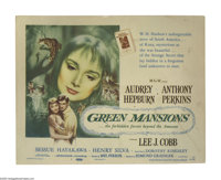 "Green Mansions (MGM, 1959). Title Lobby Card (11"" X 14""). Posters for Audrey Hepburn's films are some of the m..."