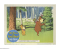 "Movie Posters:Animated, Hey There, It's Yogi Bear (Hanna-Barbera Productions, 1964). Lobby Cards (2) (11"" X 14""). After saving his girlfriend Cindy ... (Total: 2 Items)"