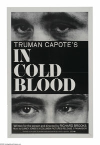 """In Cold Blood (Columbia, 1967). One Sheet (27"""" X 41""""). """"I thought Mr. Clutter was a very nice gentleman..."""