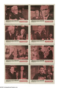 "Movie Posters:Drama, Judgement at Nuremberg (United Artists, 1960). Lobby Card Set of 8 (11"" X 14""). ""Judgment at Nuremberg"" is a dramatized vers... (Total: 8 Items)"