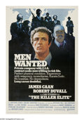 "The Killer Elite (United Artists, 1975). Poster (40"" X 60""). Freelance CIA agent Mike Locken (James Caan) is h..."