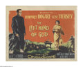 """Movie Posters:Drama, The Left Hand of God (20th Century Fox, 1955). Title Lobby Card (11"""" X 14""""). In this tale set during WWII, Humphrey Bogart p..."""