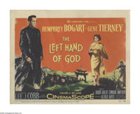 """The Left Hand of God (20th Century Fox, 1955). Title Lobby Card (11"""" X 14""""). In this tale set during WWII, Hum..."""