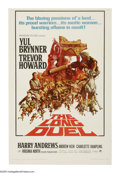 "Movie Posters:Adventure, The Long Duel (Paramount, 1967). One Sheet (27"" X 41""). Yul Brynneris an Indian revolutionary during the British Raj, and T..."
