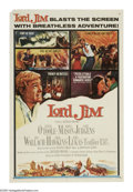 "Movie Posters:Adventure, Lord Jim (Columbia, 1965). One Sheet (27"" X 41""). Peter O'Tooleseeks redemption for the cowardly act he committed in a spli..."