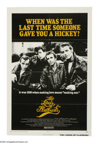 """The Lords of Flatbush (Columbia, 1974). One Sheet (27"""" X 41""""). Perry King, Sylvester Stallone, Henry Winkler a..."""