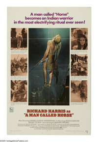 "A Man Called Horse (National General, 1970). One Sheet (27"" X 41""). Richard Harris is an English aristocrat ca..."