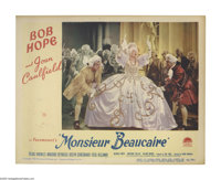"""Monsieur Beaucaire (Paramount, 1946). Lobby Cards (2) (11"""" X 14""""). A funny costume comedy with Bob Hope in the..."""