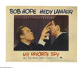 """Movie Posters:Comedy, My Favorite Spy (Paramount, 1951). Lobby Card (11"""" X 14""""). Small time comic Peanuts White (Bob Hope) takes over for missing ..."""