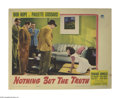"""Movie Posters:Comedy, Nothing But the Truth (Paramount, 1941). Lobby Cards (2) (11"""" X 14""""). In Bob Hope and Paulette Goddard's third movie togethe... (Total: 2 Items)"""