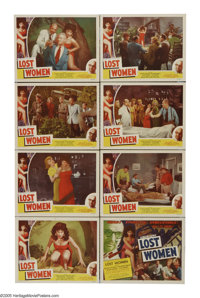 """Mesa of Lost Women (Howco, 1952). Lobby Card Set of 8 (11"""" X 14""""). This low budget science fiction tale is oft..."""