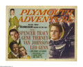 "Movie Posters:Adventure, Plymouth Adventure (MGM, 1952). Title Lobby Card (11"" X 14""). Thisfilm chronicles the journey of the Pilgrims aboard the Ma..."