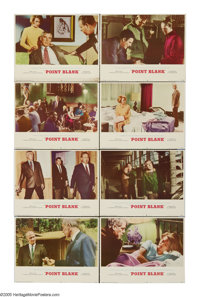 "Point Blank (MGM, 1967). Lobby Card Set of 8 (11"" X 14""). This throbbing revenge film celebrates the revolutio..."