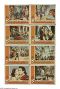 "Movie Posters:Adventure, Samson and Delilah (Paramount, 1949). Lobby Card Set of 8 (11"" X14""). Cecil B. DeMille's Biblical epic retells the Old Test...(Total: 8 Items)"