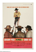 """Movie Posters:Western, Shoot Out (Universal, 1971). Poster (40"""" X 60""""). Clay Lomax (Gregory Peck) is out of prison and looking for revenge from the..."""