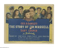 "Movie Posters:War, The Story of Dr. Wassell (Paramount, 1944). Title Lobby Card (11"" X14""). Gary Cooper plays Dr. Wassell in the true life sto..."