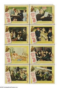 """Take Her, She's Mine (20th Century Fox, 1963). Lobby Card Set of 8 (11"""" X 14""""). Jimmy Stewart is a conservativ..."""