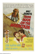 "Movie Posters:Adventure, Third Man on the Mountain (Buena Vista, 1959). One Sheet (27"" X41""). James MacArthur is a young climber determined to be th..."