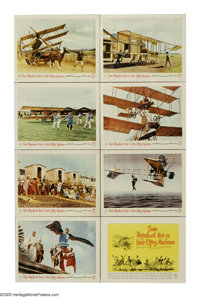 "Those Magnificent Men in Their Flying Machines (20th Century Fox, 1965). Lobby Card Set of 8 (11"" X 14""). One..."